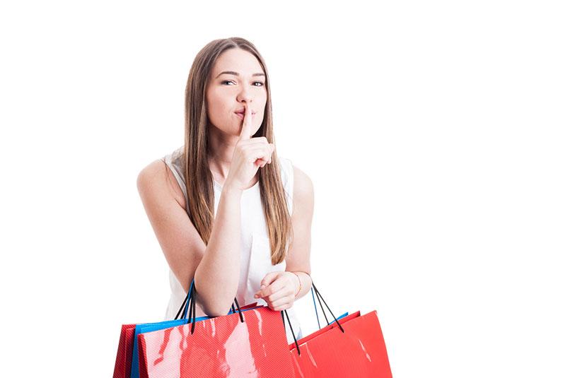 Che vuoi per comprare di più? Ti piacerebbe poterlo chiedere a tutti i clienti?